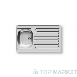 Мивка за вграждане Pyramis International 1B 1D 100x60