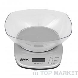 Везна кухненска VOX KW0201 дигитална с купа