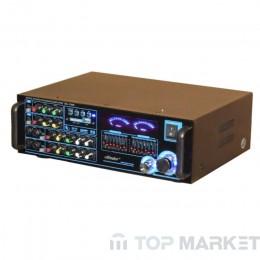 Усилвател ПАСАТ RMT AM/DS-1008 bluetooth домашен