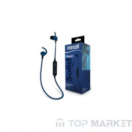 Слушалки MAXELL ML-AH-SOLID-BT100BLUE