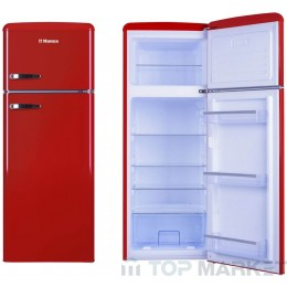 Хладилник-фризер HANSA FD 221.3R червен