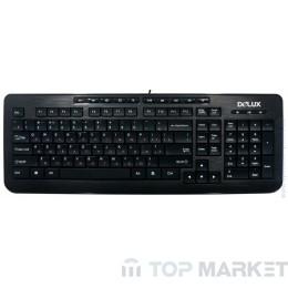 Клавиатура  DELUX DLK-3100U USB