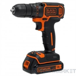 Акумулаторна бормашина BLACK&DECKER BDCDC18K