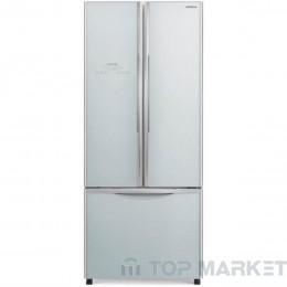 Двукрилен хладилник с фризер HITACHI R-WB550PRU2 Silver (GS)
