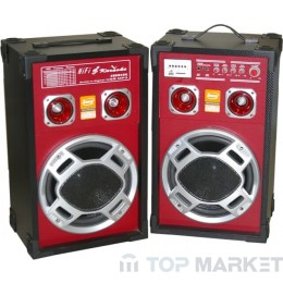 Колонки ПАСАТ BOOM BOX +MP3+AMPL+KAREOKE WT1005