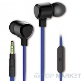 Слушалки с микрофон VIVANCO 35494 сини