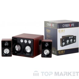 Тонколони CYBERLIFE E301 (2.1)+MP3 PLAYER