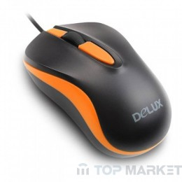 Мишка DELUX DLM-137GX G01UF Orange