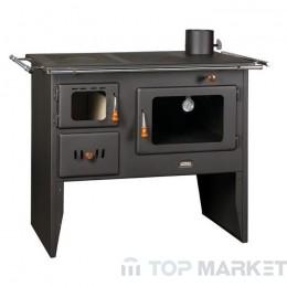 Готварска печка отоплителна PRITY W12-1 P41 дясна