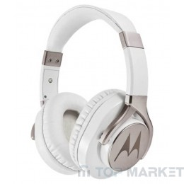 Слушалки MOTOROLA PULSE MAX WIRED WHITE