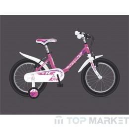 """Велосипед SPRINT BG17 ALICE 18"""" 1 SP PINK/WHT"""
