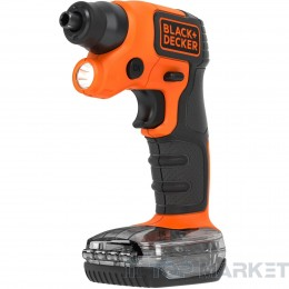 Акумулаторна отвертка с лампа BLACK&DECKER BDCSFS30C