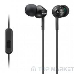 Слушалки SONY MDR-EX110AP black