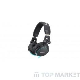 Слушалки SONY MDR-V55 blue