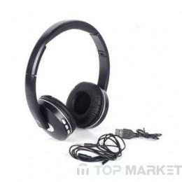 Слушалки ROYAL BT-1610 Черен/Бял