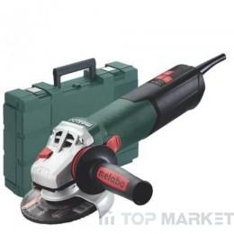 Ъглошлайф METABO W 750-125 в куфар 125mm 750 W