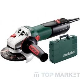 Ъглошлайф METABO W 9-125 QUICK в куфар 900W