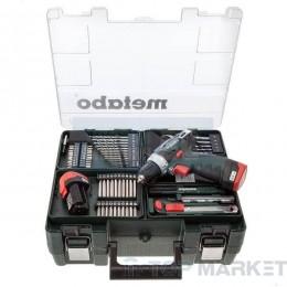 Акумулаторен винтоверт METABO POWERMAXX BS BASIC SET 2x2Ah 10.8V 34Nm