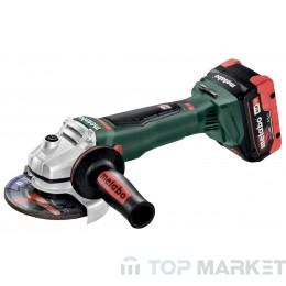 Акумулаторен ъглошлайф METABO WB 18 LTX BL 125 Quick 125mm