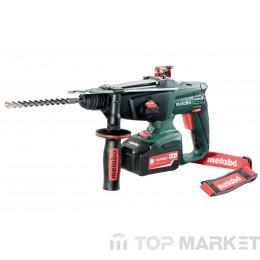 Акумулаторен перфоратор METABO KHA 18 LTX 2X4.0AH 24mm