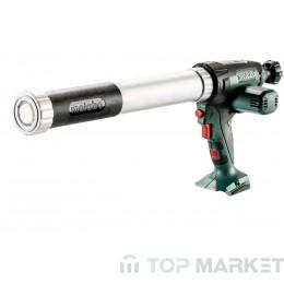 Акумулаторен пистолет за силикон METABO KPA 18 LTX 600 18 V 600 m