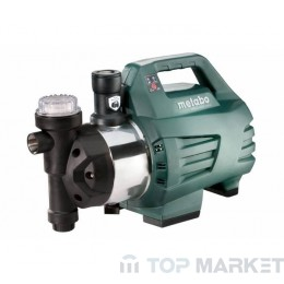 Хидрофор с електронен пресостат METABO HWAI 4500 INOX 1300W