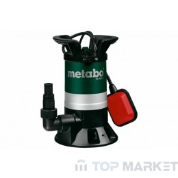 Помпа дренажна METABO PS 7500 S 450W 7500l/h
