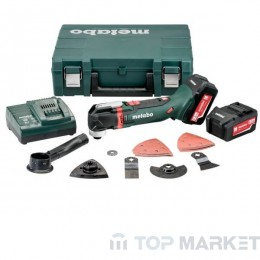 Акумулаторен мултишлайф METABO MT 18 LTX 2x5.2 Ah