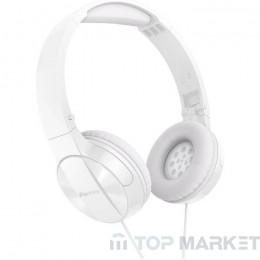 Слушалки PIONEER SE-MJ503-W, Бял