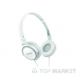 Слушалки PIONEER SE-MJ512-W, Бял