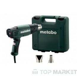 Пистолет за горещ въздух METABO H 20-600 2000W в куфар с дюзи