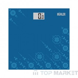 Везна MUHLER MSC-3040 син