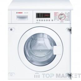 Пералня машина със сушилня за пълно вграждане BOSCH WKD28541EU