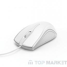 Мишка HAMA MC-200 182603/оптична бяла