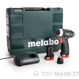 Акумулаторен винтоверт METABO POWERMAXX BS BASIC