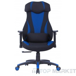 Геймърски стол Dragon Blue
