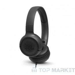 Слушалки  JBL T500 BLK