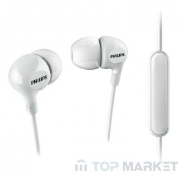 Слушалки PHILIPS SHE 3555 WT