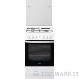 Готварска печка INDESIT IS5M4KCW/E