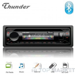 Авто радио THUNDER TUSB-209BT