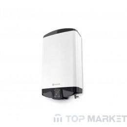 Бойлер Eldom DU080 80 л. 2.1kW + 1.2kW, плосък дизайн, универсален монтаж, ел. управление, емайлиран