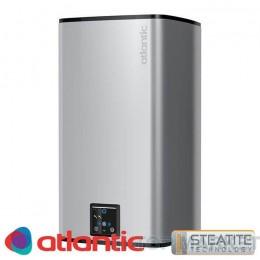 Електрически бойлер ATLANTIC Steatite Silver CUBE 75л Wi-Fi