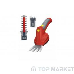 Акумулаторни ножица и храсторез комплект WOLF Garten FINESSE 50 SET