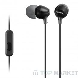 Слушалки SONY MDR EX15LP BLACK
