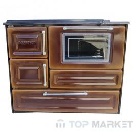 Готварска печка отоплителна hossoven 4010