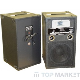 Колонки ПАСАТ BOOM BOX +MP3+AMPL+BLUETOOTH KAREOKE WT-1008