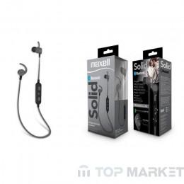Слушалки MAXELL ML-AH-SOLID-BT100BK