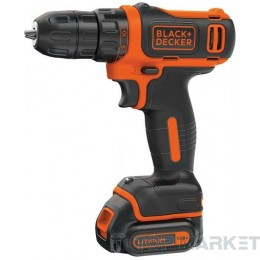 Бормашина акумулаторна BlackDecker BDCDD12