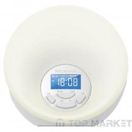 Симулатор на изгрев с радиочасовник Medisana Wake-up Light WL 444