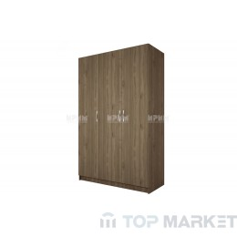 Трикрилен гардероб City 1002